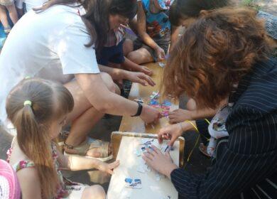Волонтёры Благотворителей фонда «Витязь» совместно со студентами ГОУ ВПО ГИИЯ посетили МДОУ 88 «Солнышко»