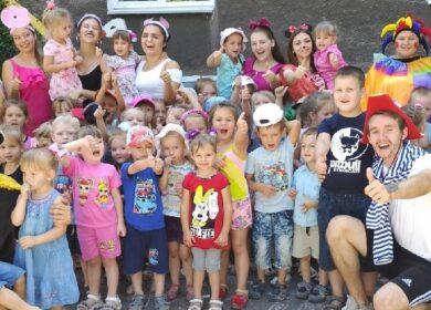 Волонтёры БФ «Витязь»провели для детей ДОУ 82 «Ромашка» сказочный квест
