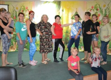 Клуб «Многодетных мам» возобновил свою работу