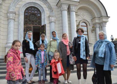 Клуб многодетных мам посетил Богоявленский Собор