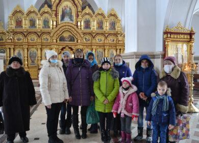Клуб многодетных мам посетил Николаевский архиерейский Собор