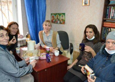 Что нужно, что бы сделать праздник? Мамы из клуба многодетных мам отпраздновали День Матери веселым чаепитием