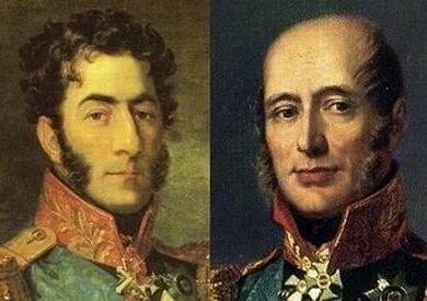Багратион и Барклай-де-Толли-одна судьба,одно отечество