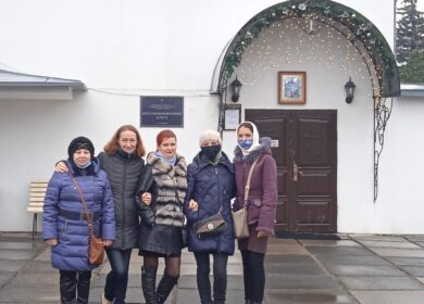 Клуб многодетных мам посетил Крестовоздвиженский Храм